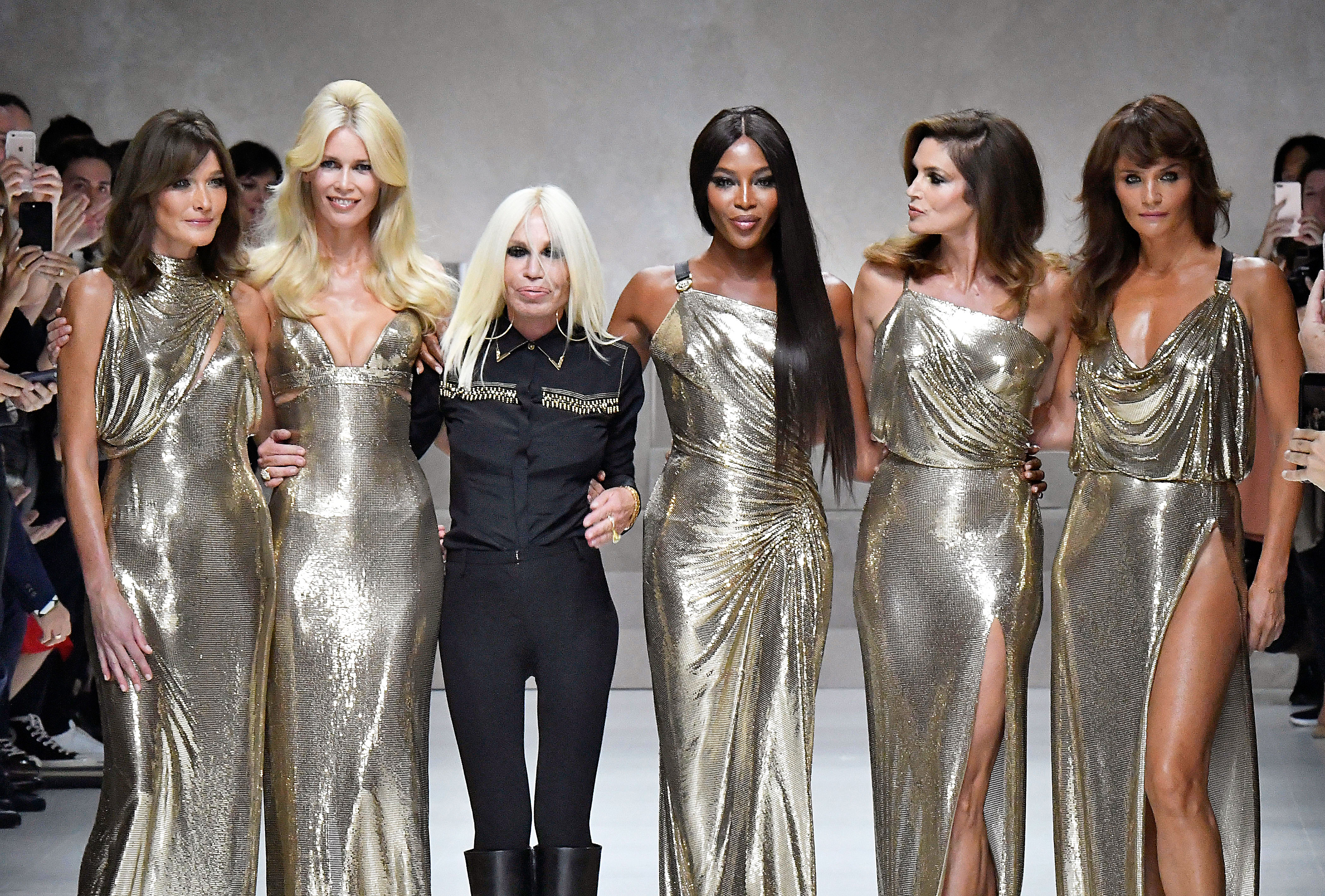 Donatella Versace Says No To Fur