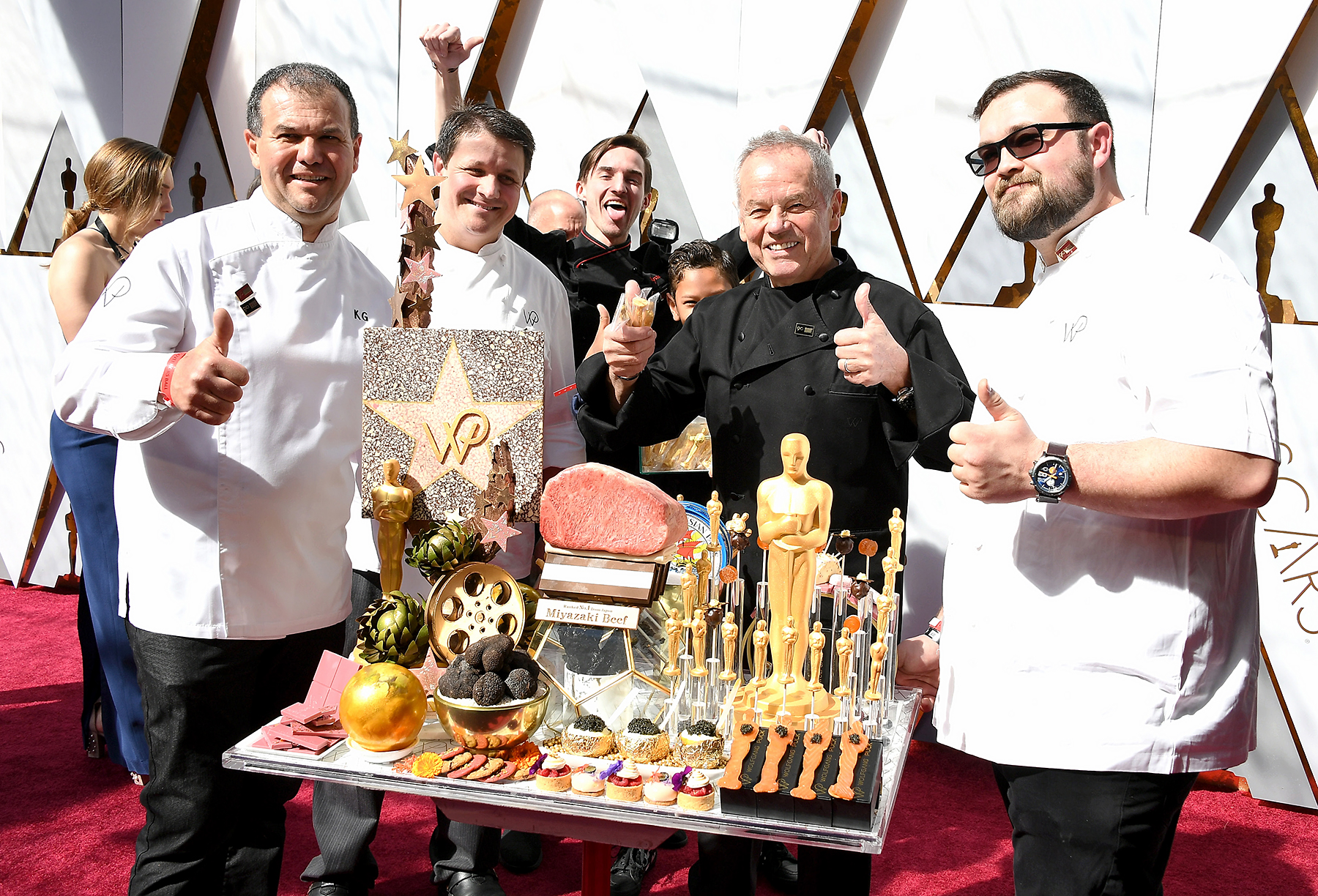 Chef Wolfgang Puck Dishes About Oscars 2018 Menu