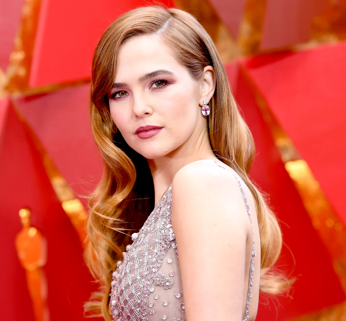 oscars 2018: best celebrity red carpet hair, makeup looks