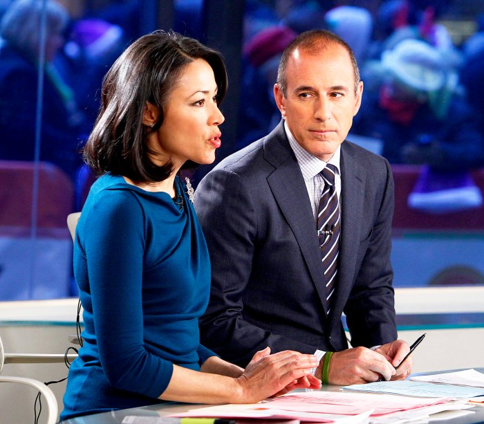 Ann Curry and Matt Lauer appear on 'Today' show