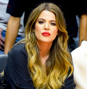 Khloe Kardashian attends a basketball game between the Los Angeles Lakers and the Los Angeles Clippers at Staples Center on January 7, 2015 in Los Angeles, California.