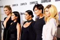 Khloe Kardashian, Kourtney Kardashian, Kim Kardashian, Kris Jenner and Kylie Jenner