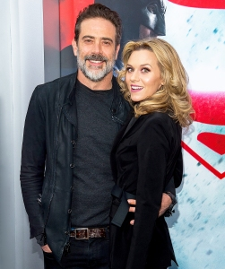 """Jeffrey Dean Morgan and Hilarie Burton attend the """"Batman V Superman: Dawn Of Justice"""" New York premiere at Radio City Music Hall on March 20, 2016 in New York City."""