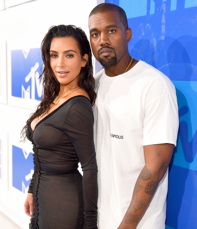 Kanye west kim kardashian start hookup