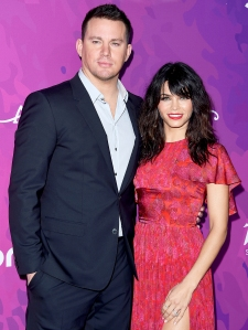 Channing Tatum and Jenna Dewan arrive at Variety and WWD 2nd Annual StyleMakers Awards at Quixote Studios West Hollywood in West Hollywood, California.