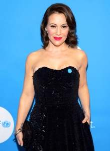 Alyssa Milano attends the 7th Biennial UNICEF Ball at The Beverly Wilshire Hotel in Beverly Hills, California.