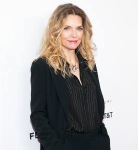 "Michele Pfeiffer attends the 2018 Tribeca Film Festival ""Scarface"" reunion at the Beacon Theatre on April 19, 2018 in New York City."