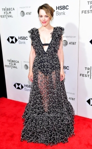 "Rachel McAdams attends the ""Disobedience"" premiere during the 2018 Tribeca Film Festival at BMCC Tribeca PAC on April 24, 2018 in New York City."