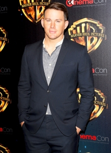 """Channing Tatum attends the 2018 CinemaCon Warner Bros. Pictures """"The Big Picture"""" at The Colosseum at Caesars Palace on April 24, 2018 in Las Vegas, Nevada."""