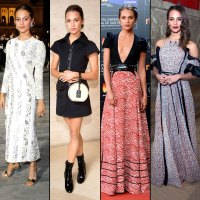 Alicia Vikander in Louis Vuitton: Best Red Carpet Looks