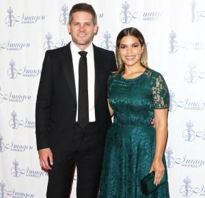 Ryan Piers Williams America Ferrera Gives Birth