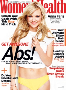 Anna Faris Womens Health Cover
