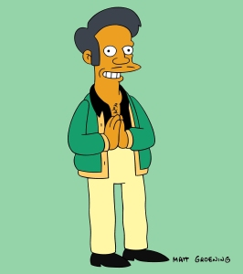 Apu on 'The Simpsons'