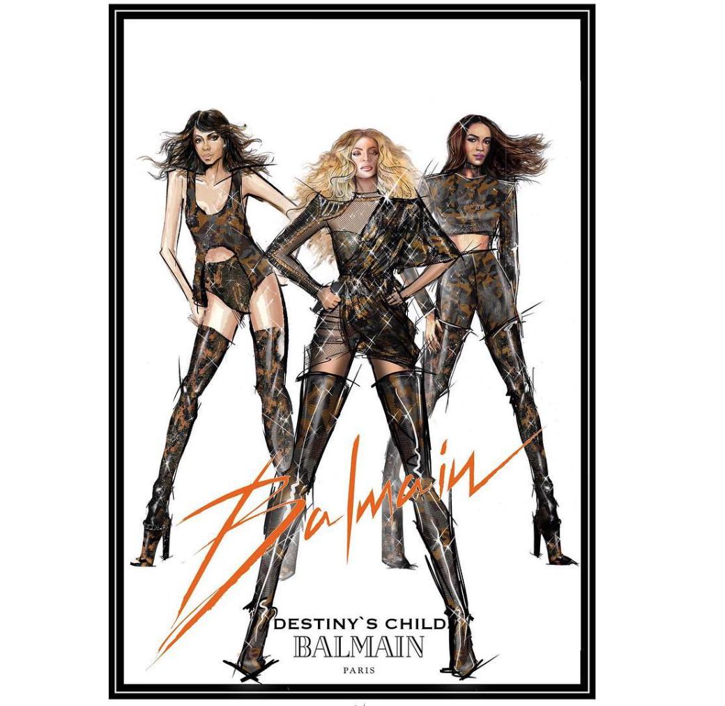 f53d2b8c3288 Beyonce s Balmain Fashion