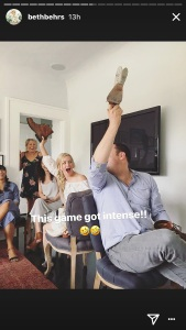 Beth Behrs, Bridal Shower, Game