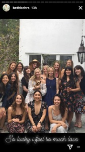 Beth Behrs, Bridal Shower