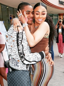 Blac Chyna and YBN Almighty Jay attend the Lashed Ladies in L.A. Luncheon on April 29, 2018.