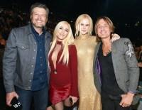 Blake Shelton, Gwen Stefani, Nicole Kidman and Keith Urban ACMs
