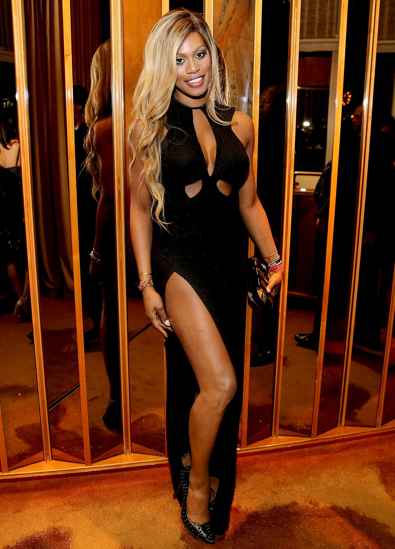 boom-boom-2015-laverne-cox - Katy Perry , Sarah Jessica Parker and several others hosted a soirée attended by Laverne Cox , Leonardo DiCaprio and Andy Cohen .