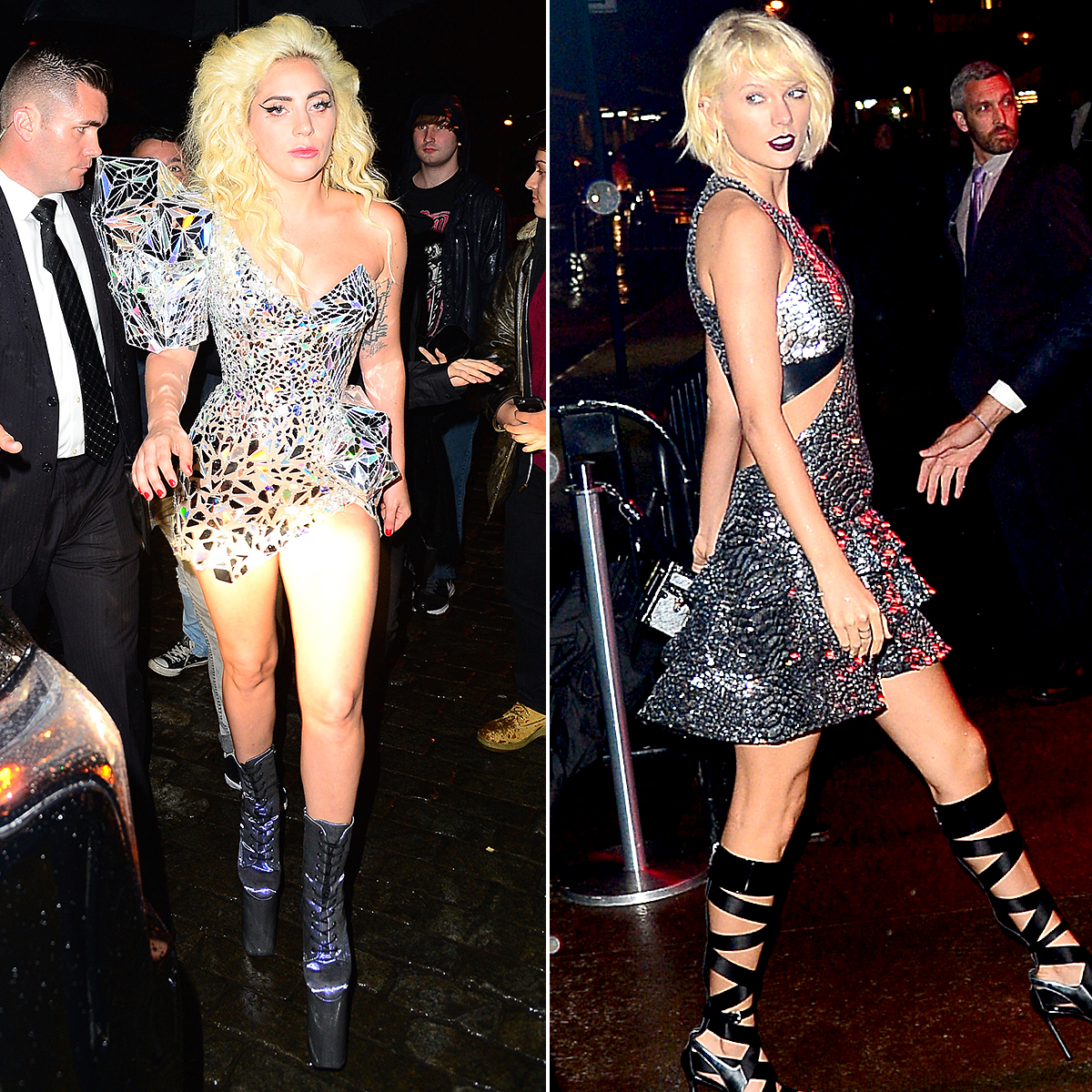Boom-Boom-Room-at-the-Standard-Hotel-in-2016-lady-gaga-taylor-swift - A-listers such as Lady Gaga and Taylor Swift attended the Apple-hosted afterparty in the Standard Hotel.