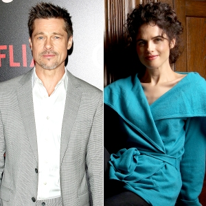 Brad Pitt and Neri Oxman