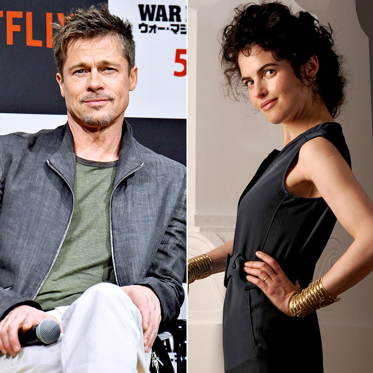Brad Pitt Girlfriend Neri Oxman Talk On The Phone Several Times A Day