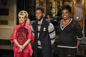 Cardi B, Chadwick Boseman, Leslie Jones, Saturday Night Live