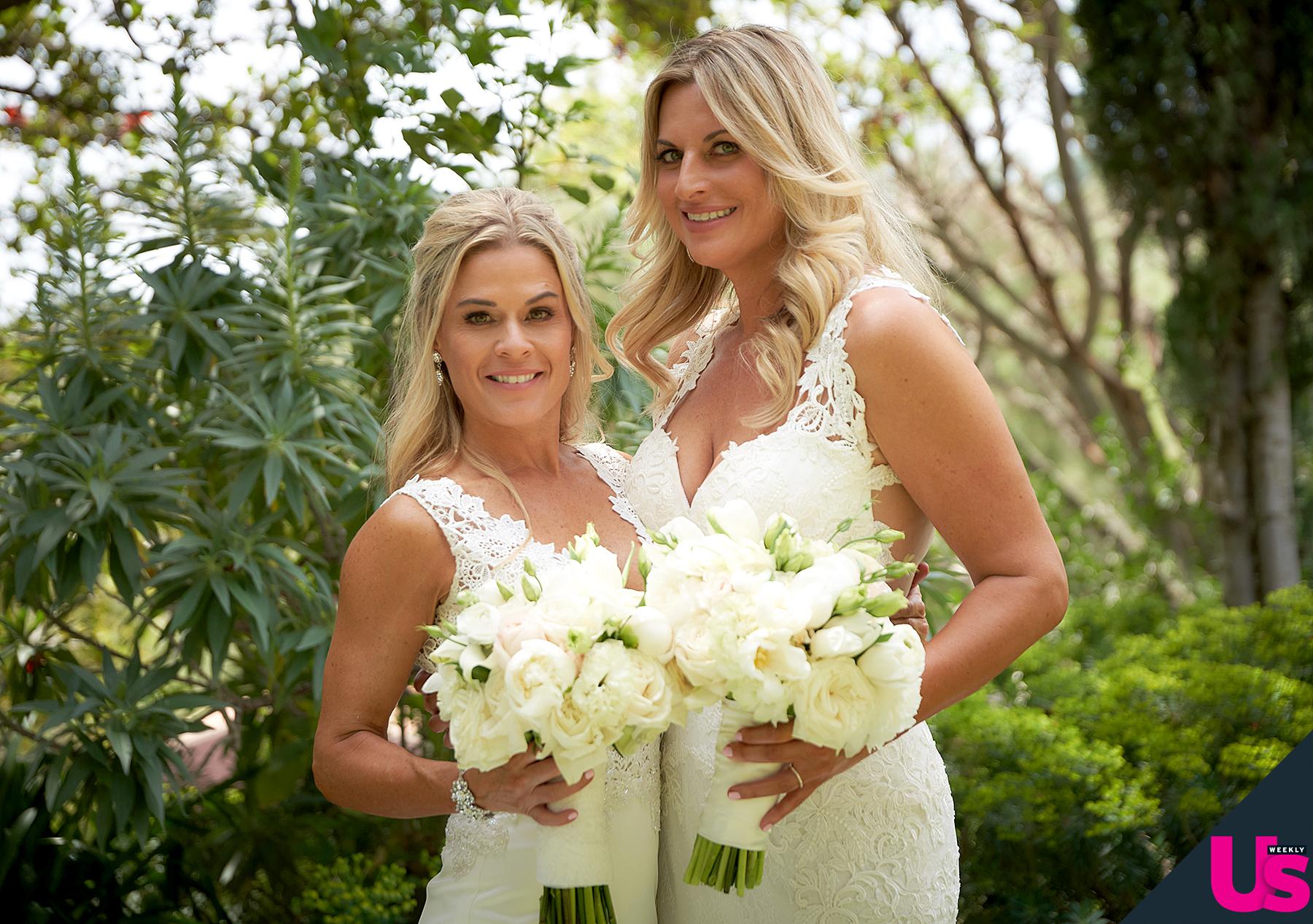 cat cora and nicole ehrlichs perfect wedding day on zig