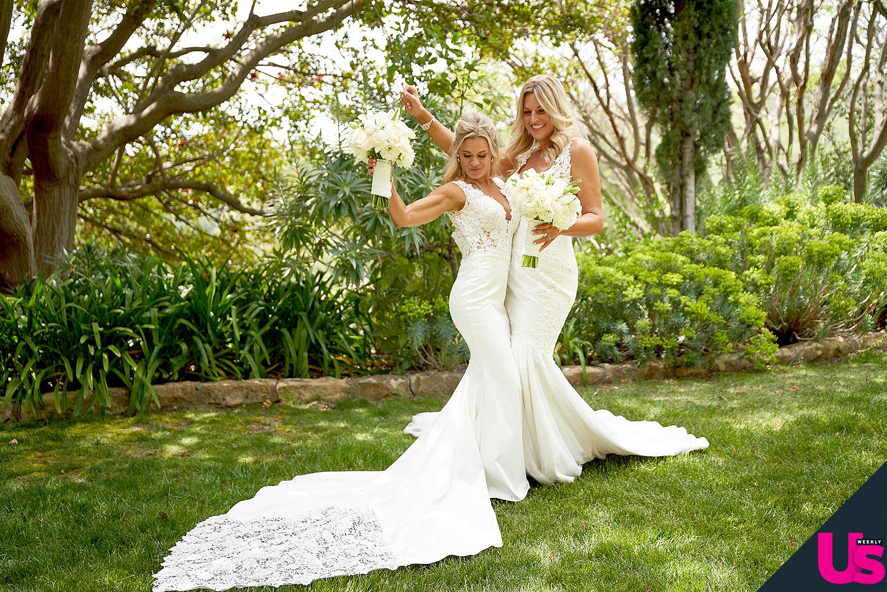 Cat Cora And Nicole Ehrlich's 'Perfect' Wedding Day On ZIG