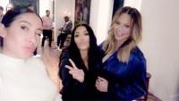 Jen Atkin, Kim Kardashian, Chrissy Teigen, Baby Shower