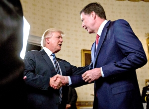 Donald-Trump-James-Comey