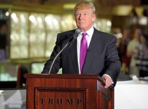 Donald Trump, Trump Tower, Fire
