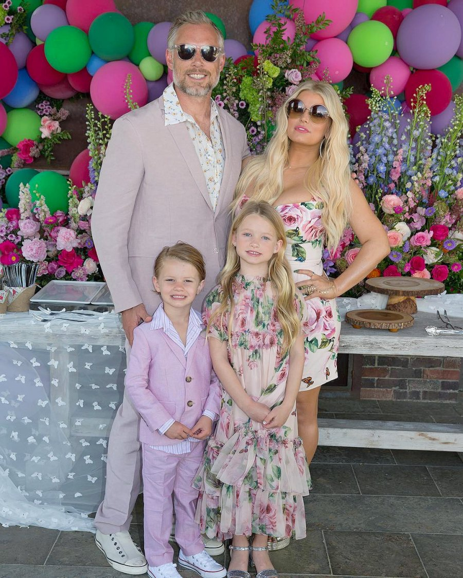 Eric Johnson, Jessica Simpson, Maxwell Drew, Ace Knute, Easter, Instagram