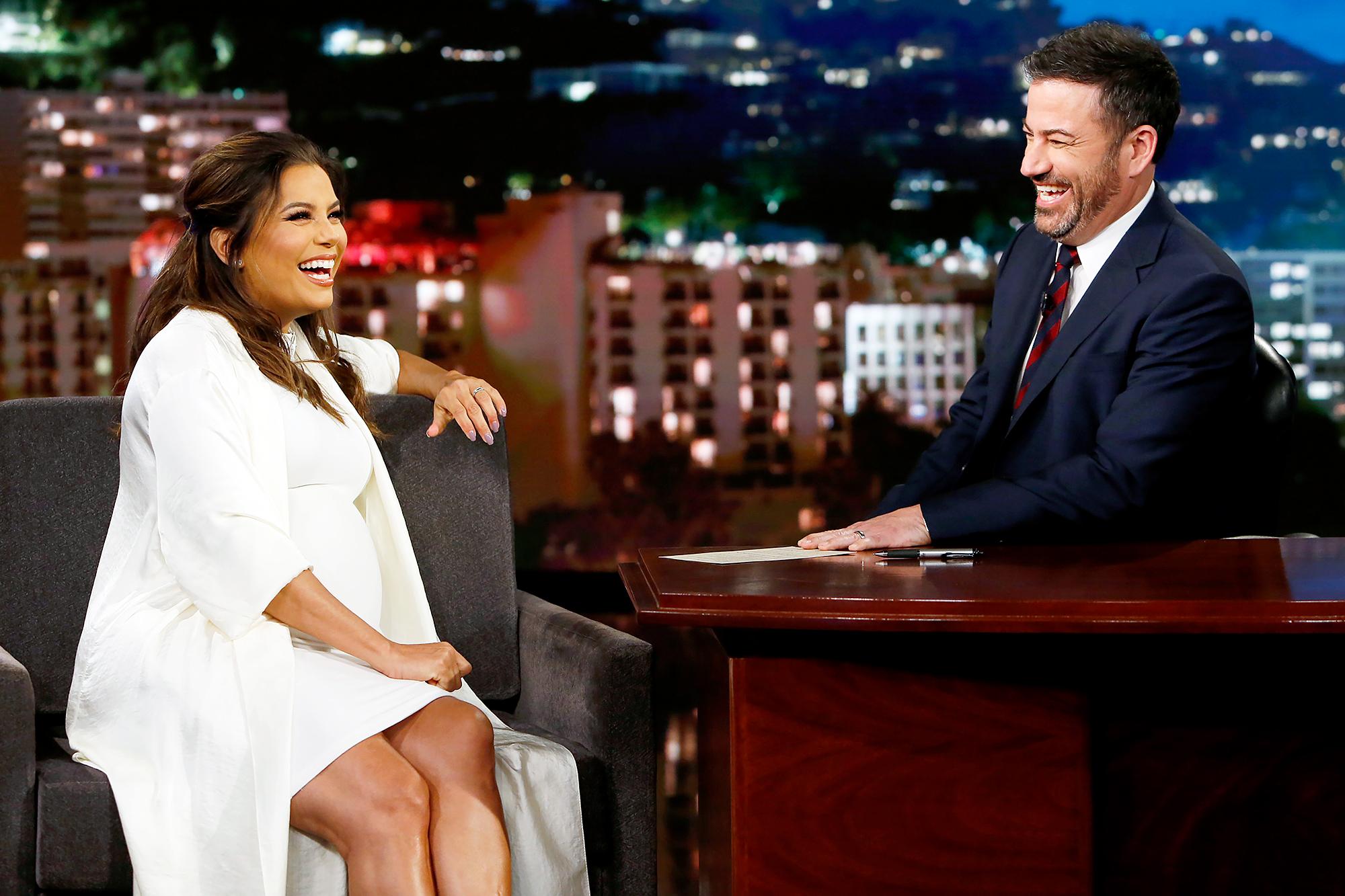 Eva Longoria Jimmy Kimmel Live