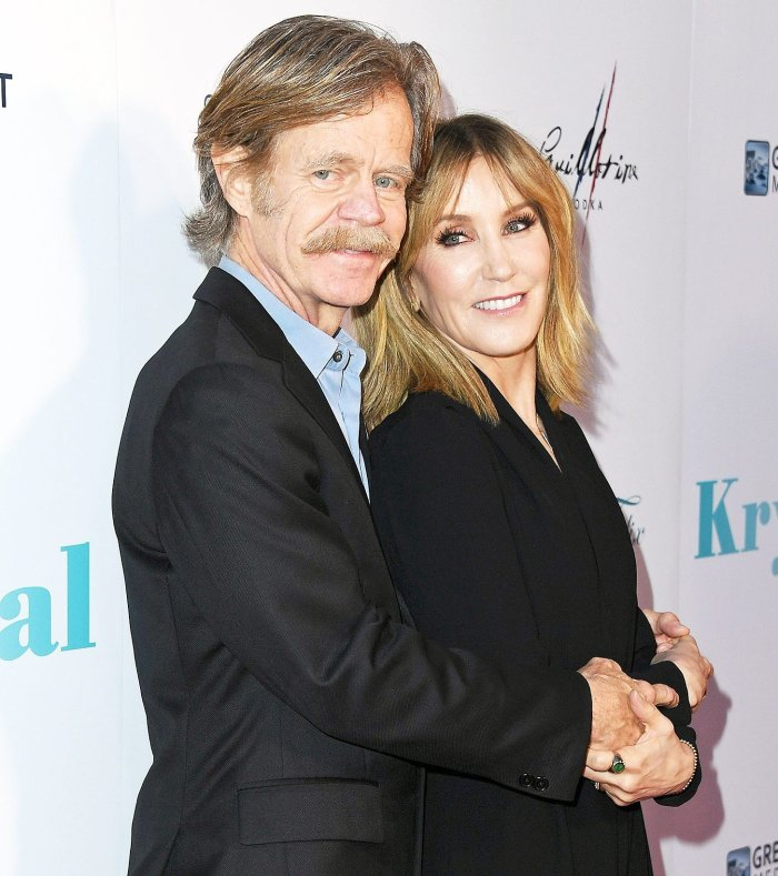 William H. Macy Felicity Huffman Lucky Marriage