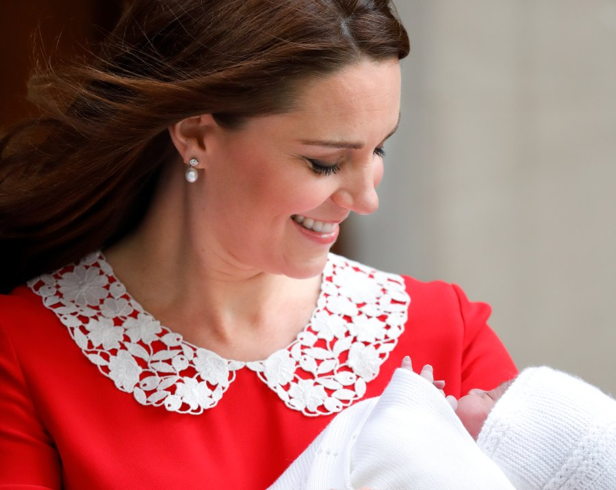 Duchess Kate with Baby No. 3