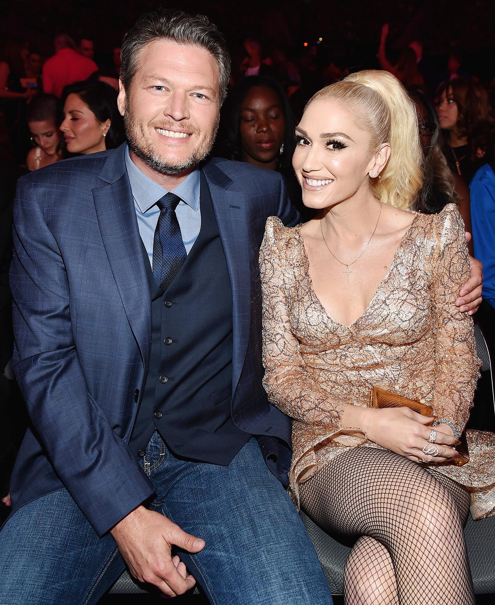 Gwen Stefani, Blake Shelton Have Matching Robes for Vegas Residency