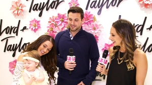 Tanner Tolbert and Jade Roper and daughter Emerson