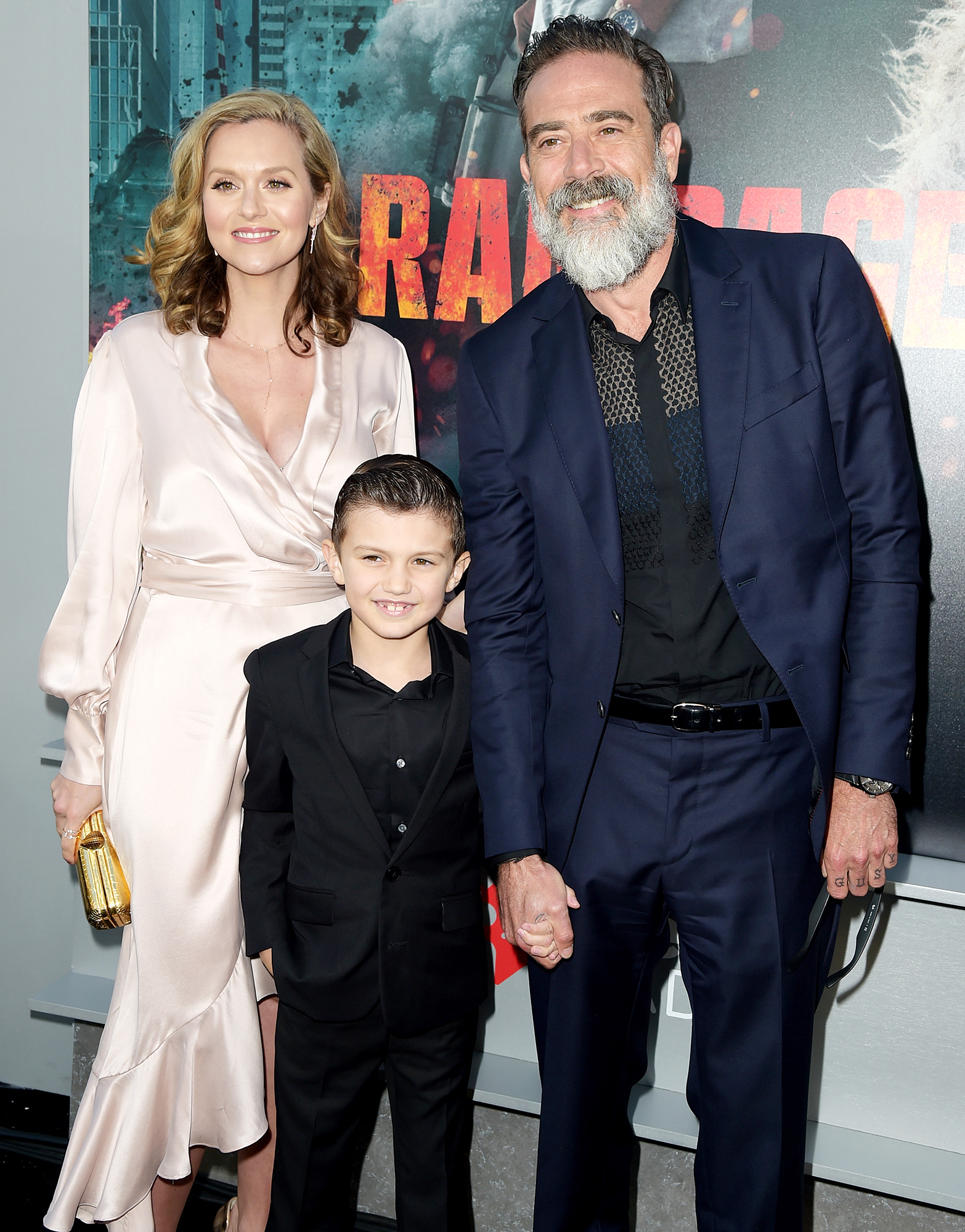 Hilarie Burton Jeffrey Dean Morgan Make Post Baby Appearance