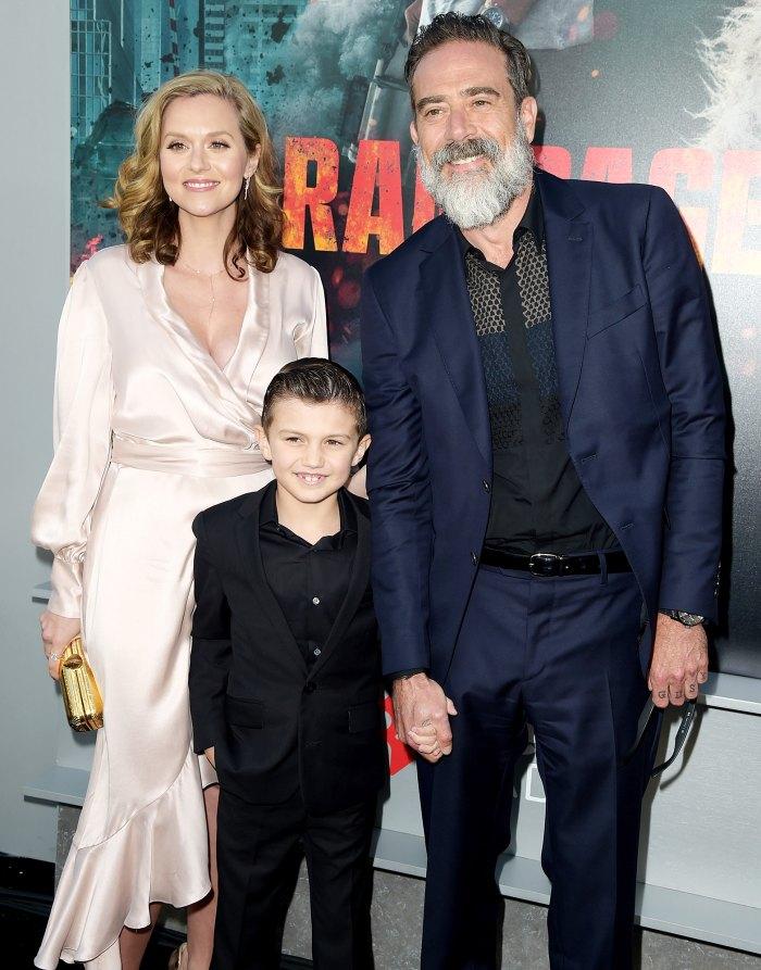 Hilarie Burton Jeffrey Dean Morgan Make Rare Appearance With Son Augustus