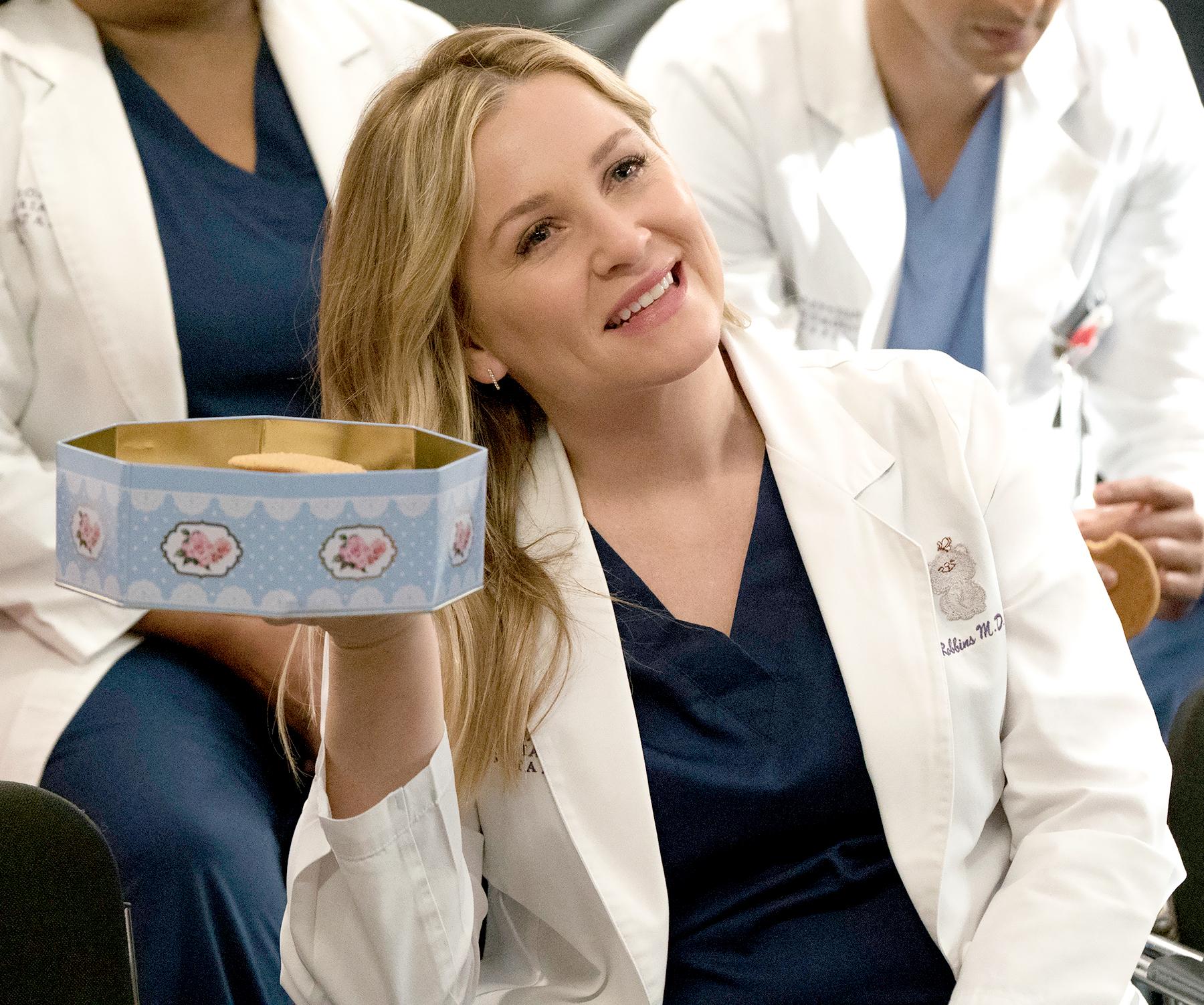 Jessica Capshaw Tweets About Last Day at 'Grey's Anatomy' Studio