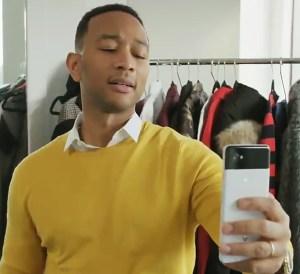 John Legend channels Arthur