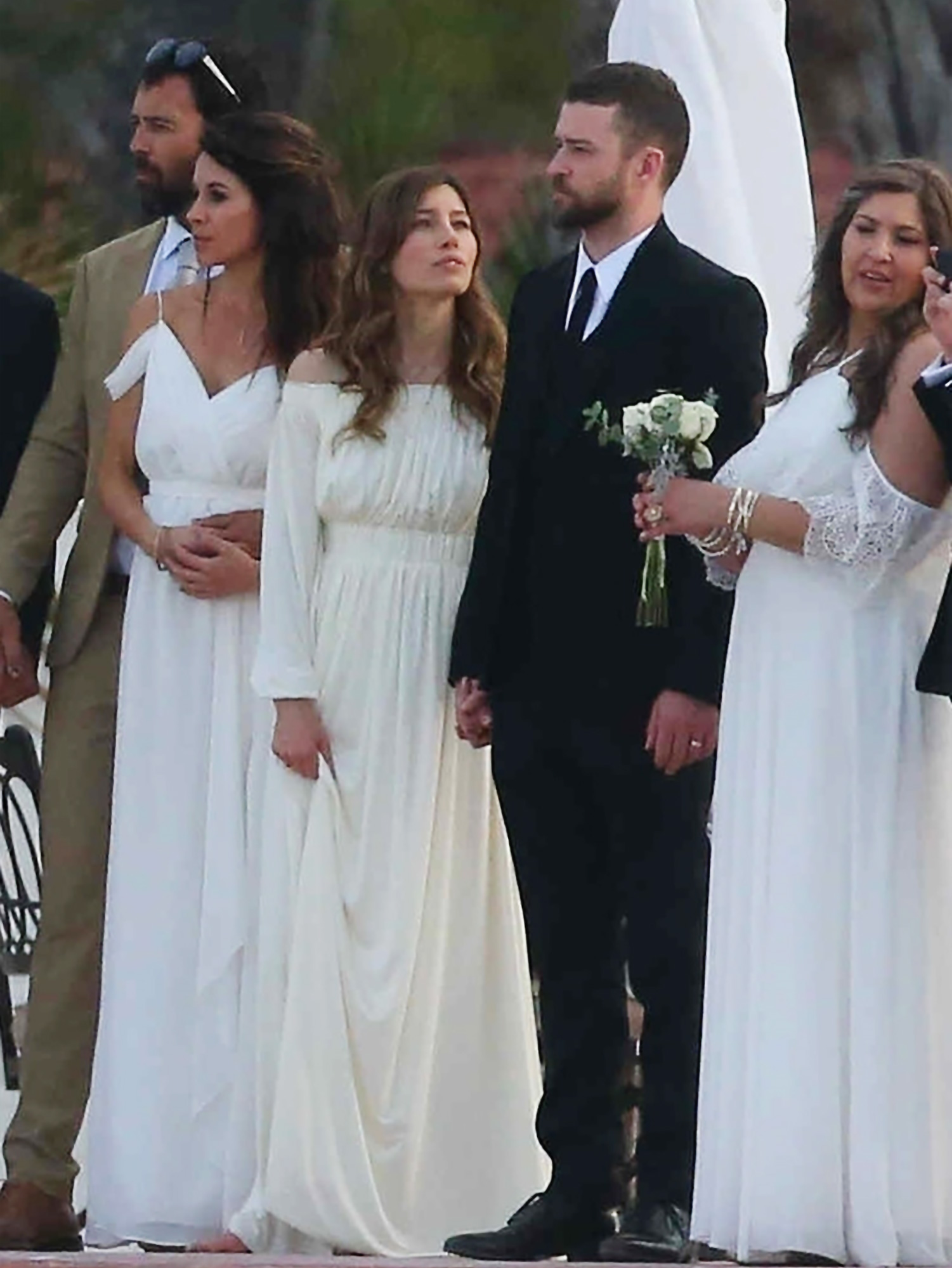 Jessica Biel Wedding Dress.Jessica Biel Justin Timberlake In Mexico For Brother S
