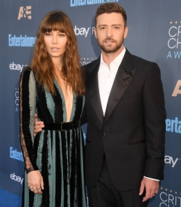Jessica Biel and Justin Timberlake c-section