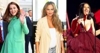 Kate Middleton, Chrissy Teigen, and Cardi B
