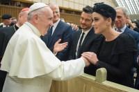 Katy Perry, Orlando Bloom, Pope Francis, Vatican