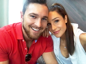 Kayla Itsines and Tobias Pearce