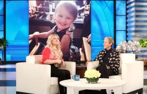 Kelly Clarkson and Ellen DeGeneres