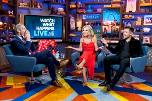 Kelly Ripa and Mark Consuelos on 'Watch What Happens Live with Andy Cohen'