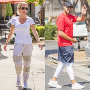 Kendra-Wilkinson-and-Hank-Baskett-soccer-game